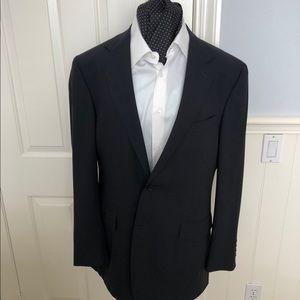 Canali classic black wool blazer